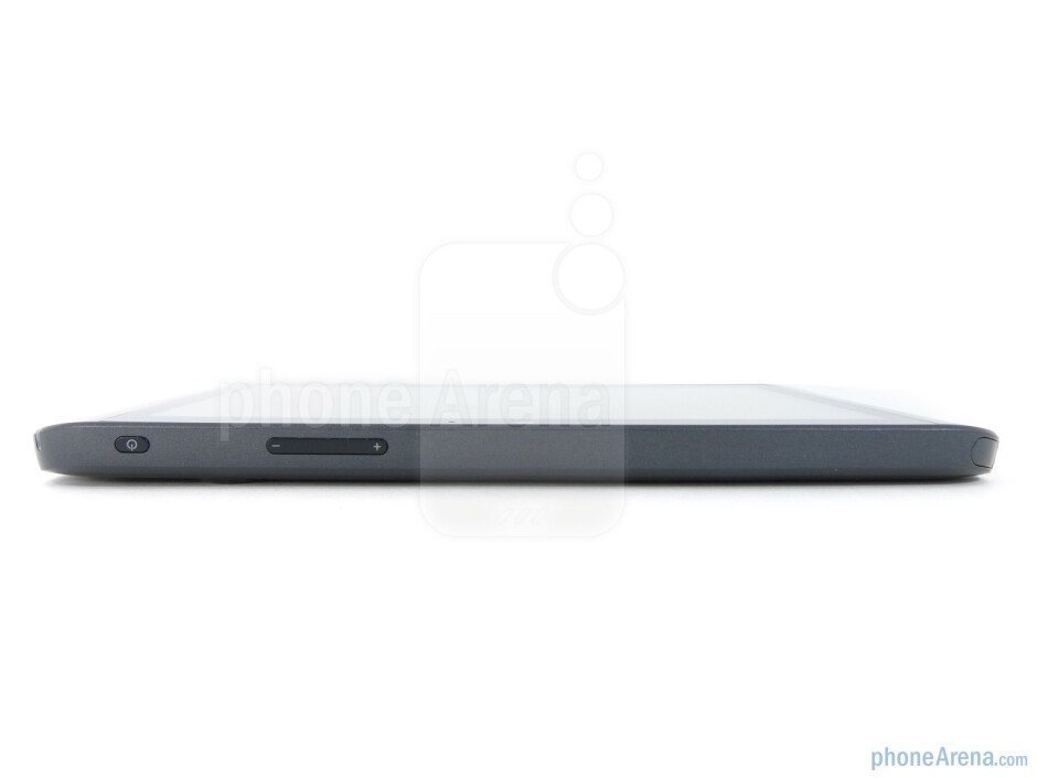 The sides of the Dell Streak 7 - Dell Streak 7 Review