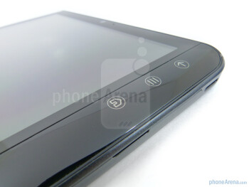 Android capacitive buttons - Dell Streak 7 Review