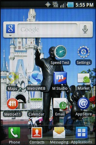 The Samsung Galaxy Indulge has as an updated version of Samsung's TouchWiz interface - Samsung Galaxy Indulge Review