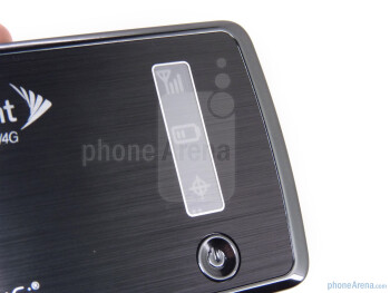 The Novatel MiFi 3G/4G 4082 is black with chrome accents - Novatel MiFi 3G/4G 4082 for Sprint Review