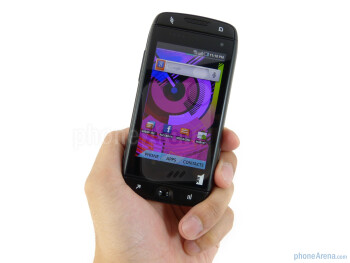 The Samsung-manufactured T-Mobile Sidekick 4G employs an entirely plastic body - T-Mobile Sidekick 4G Review