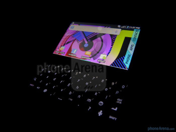 5-row QWERTY keyboard - T-Mobile Sidekick 4G Review