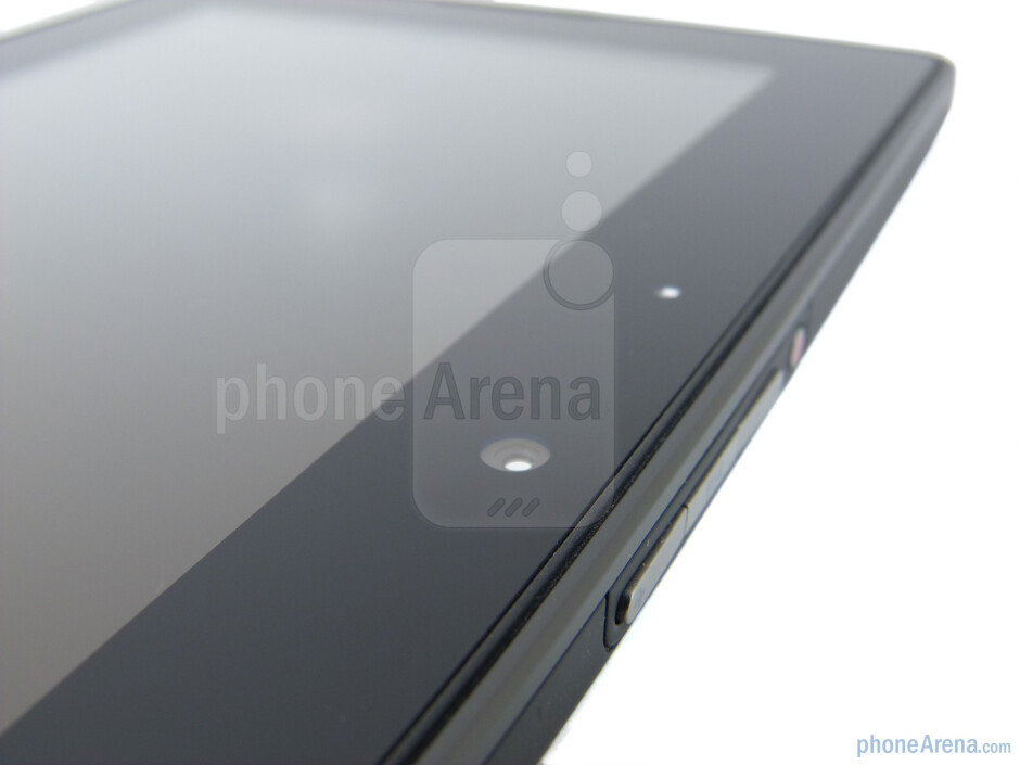 Front facing camera - RIM BlackBerry PlayBook Review