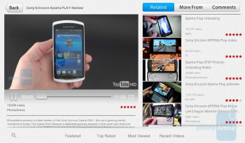 YouTube - Need For Speed UndercoverPreloaded apps on the RIM BlackBerry PlayBook - RIM BlackBerry PlayBook Review