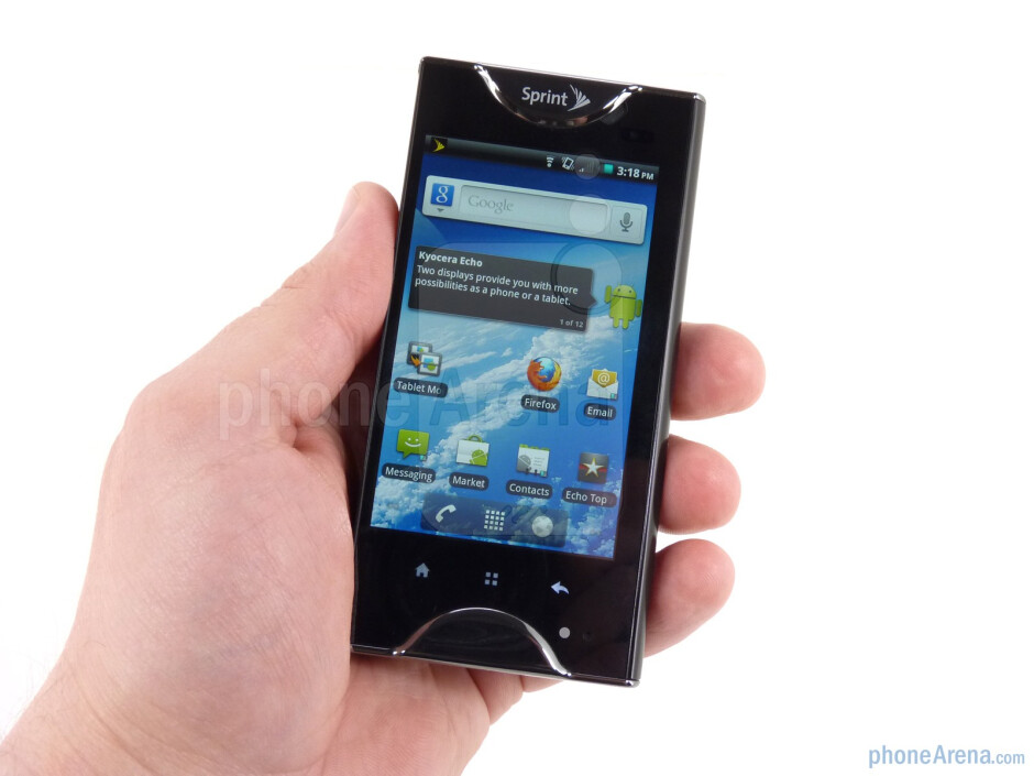 The Kyocera Echo is the world's first dual-screen phone - Kyocera Echo Review