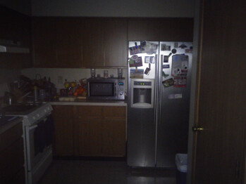 Darkness with flash - Indoor samples - Kyocera Echo Review