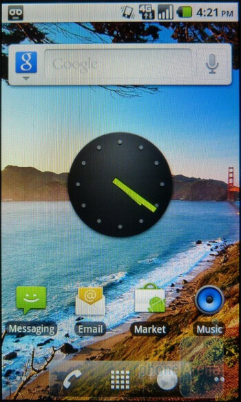 The T-Mobile G2x presents a stock Android 2.2 Froyo experience - T-Mobile G2x Review