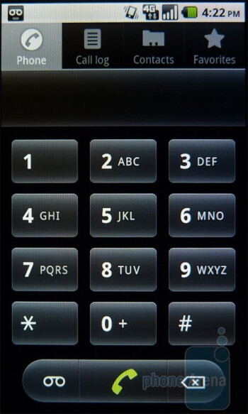 Dialer - T-Mobile G2x Review