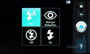Camera interface - T-Mobile G2x Review