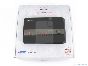 Samsung 4G Mobile HotSpot box contents - Samsung 4G Mobile HotSpot for Verizon Review