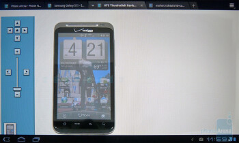 Surfing the web with the T-Mobile G-Slate - T-Mobile G-Slate Review