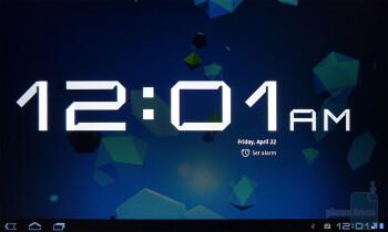 Clock app - T-Mobile G-Slate Review