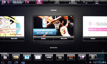 T-Mobile TV - T-Mobile G-Slate Review