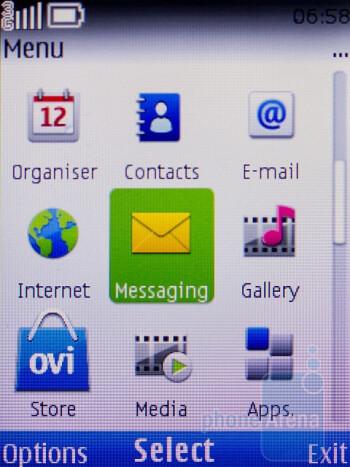 The Nokia C2-01 runs S40 - Nokia C2-01 Review