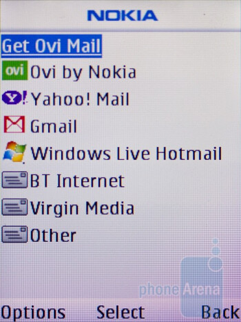 Email - Nokia C2-01 Review