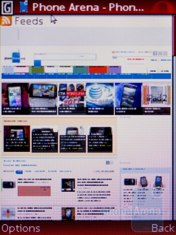 Web browsing with the Nokia C2-01 - Nokia C2-01 Review