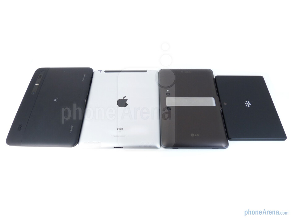 All tablets have the ability to shoot photos and videos - T-Mobile G-Slate vs BlackBerry PlayBook vs Apple iPad 2 vs Motorola XOOM