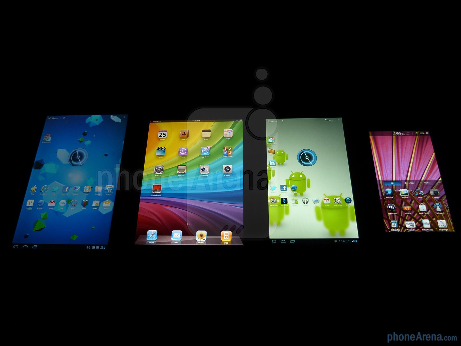tablet war rim's playbook versus apple's Research in motion says its forthcoming blackberry playbook tablet will cost the same as apple's ipad 2 this is not great news, because the playbook isn't as good as the ipad, and is smaller rim .