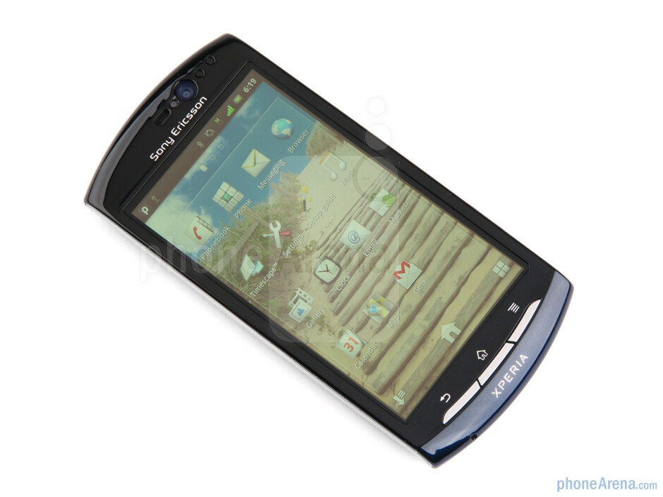 Color variants of the Sony Ericsson Xperia neo - Sony Ericsson Xperia neo Review