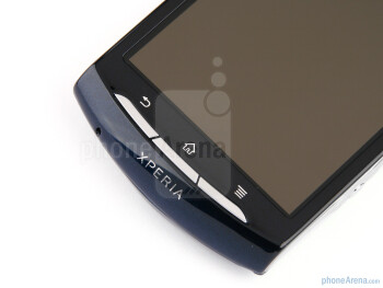 Front - The sides of the Sony Ericsson Xperia neo - Sony Ericsson Xperia neo Review