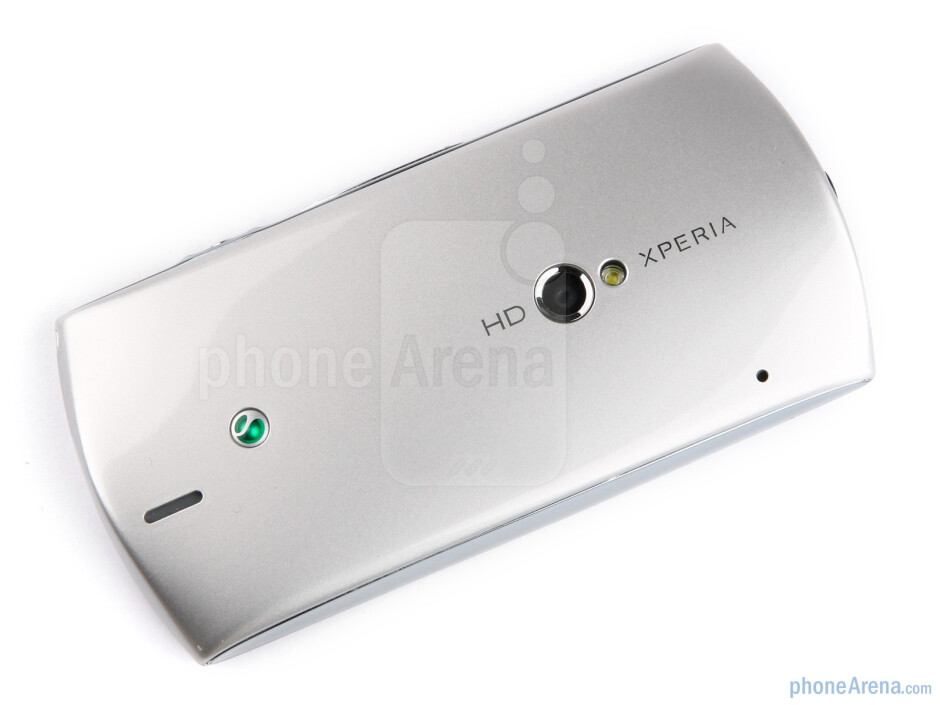 The body of the Sony Ericsson Xperia neo is curvy and rounded, fitting well in the hand - Sony Ericsson Xperia neo Review