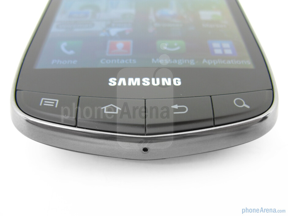 The physical buttons - Samsung Droid Charge Review