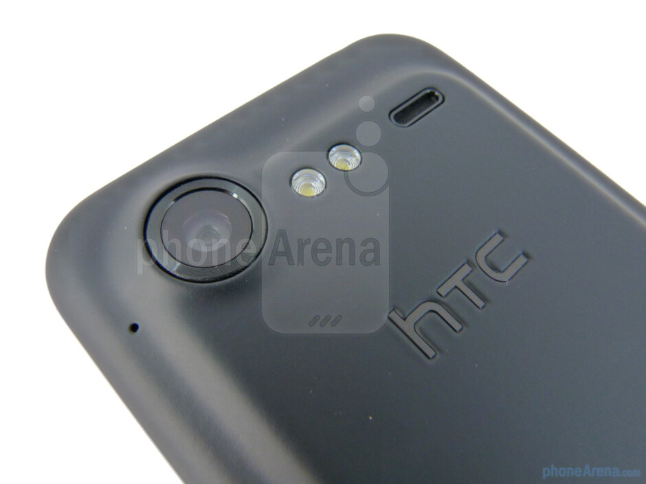 The back hosts the 8-megapixel auto-focus camera - HTC DROID Incredible 2 Review