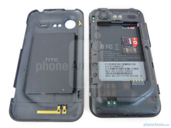Below the battery cover - HTC DROID Incredible 2 Review