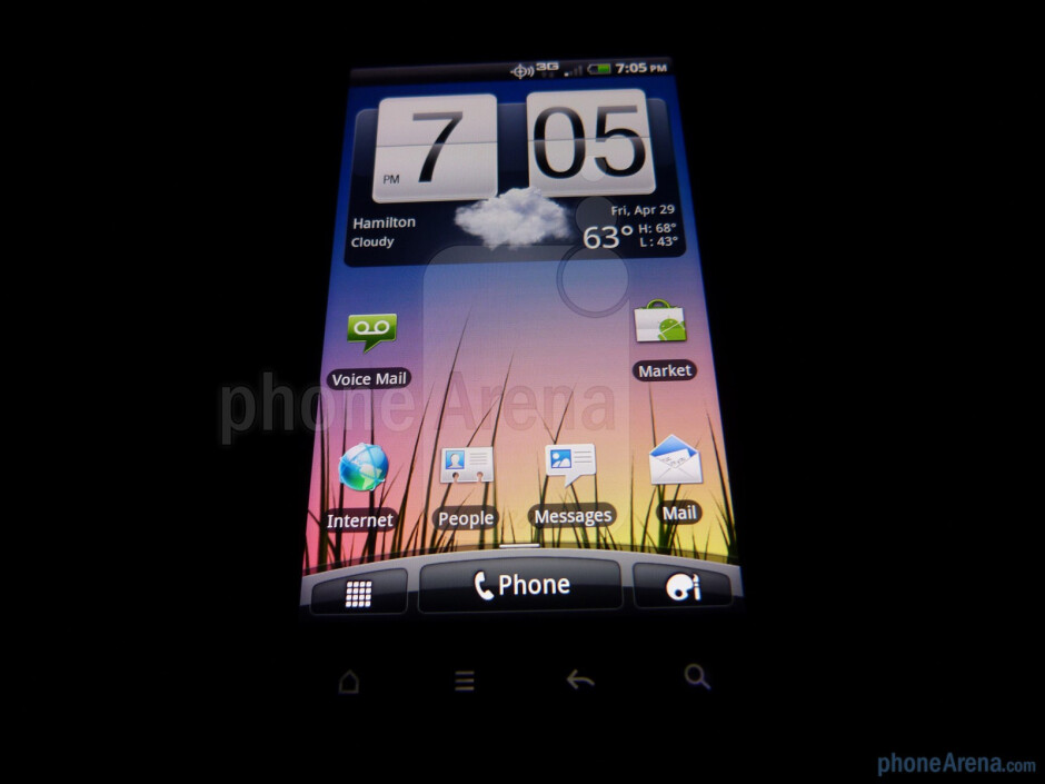 "The HTC DROID Incredible 2 boasts a 4"" Super LCD display - HTC DROID Incredible 2 Review"