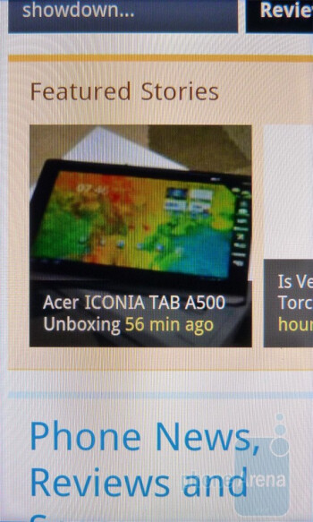 The overall web browsing experience with the HTC DROID Incredible 2 is astounding - HTC DROID Incredible 2 Review