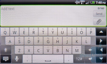 There are numbers and certain punctuations available to you directly within the main keyboard layout - HTC DROID Incredible 2 Review