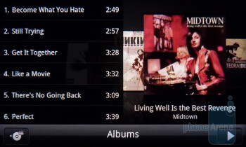 The HTC Music Player - HTC DROID Incredible 2 Review