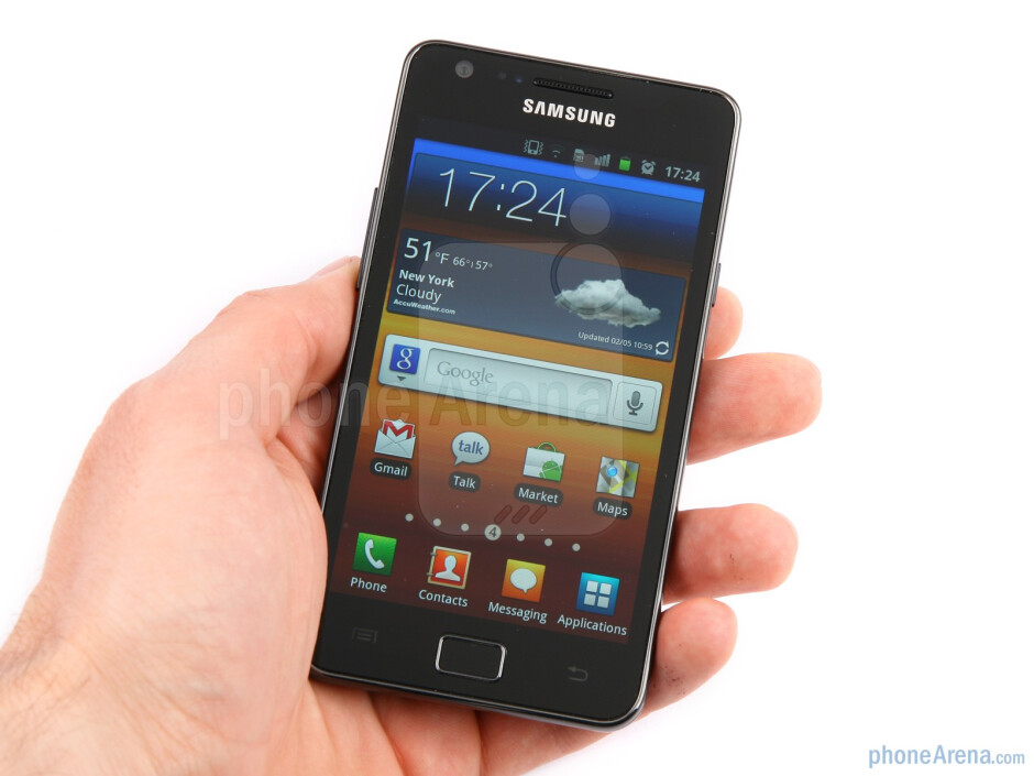 The Samsung Galaxy S II is one of the widest Android handsets - Samsung Galaxy S II Review