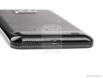 The sides of the Samsung Galaxy S II - Samsung Galaxy S II Review