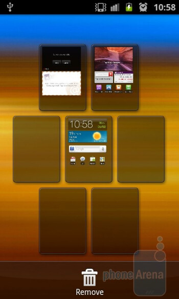 The Samsung Galaxy S II is powered by TouchWiz 4.0 UI - HTC Sensation vs Samsung Galaxy S II