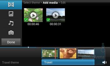 Video maker - Samsung Galaxy S II Review