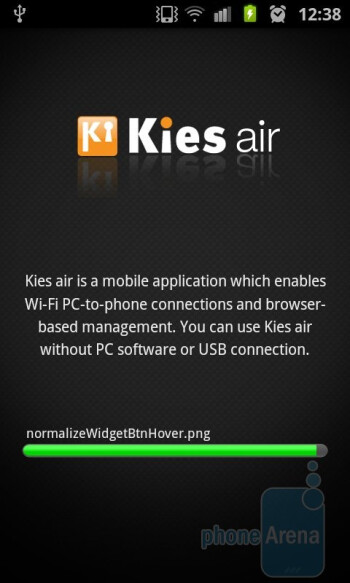 Kies Air - Samsung Galaxy S II Review