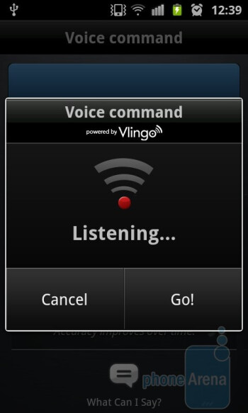 Voice talk app on the Samsung Galaxy S II - Samsung Galaxy S II Review