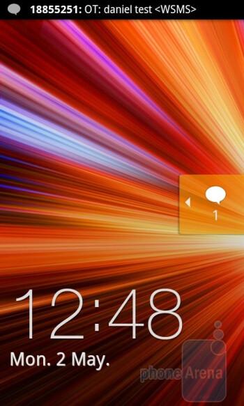 Samsung Galaxy S II - Lock screens - HTC Sensation vs Samsung Galaxy S II