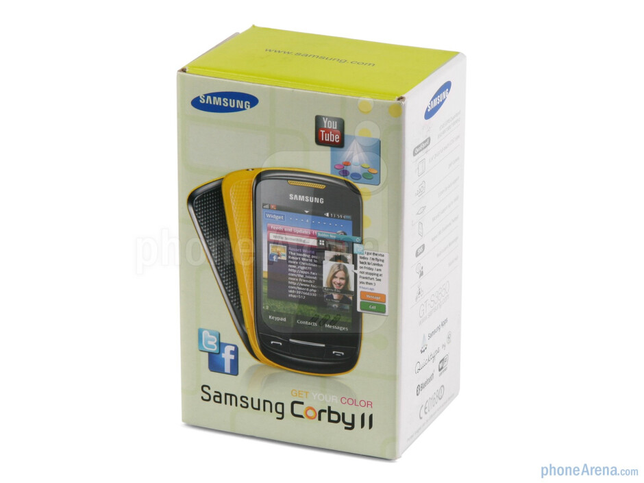 Samsung Corby II Review