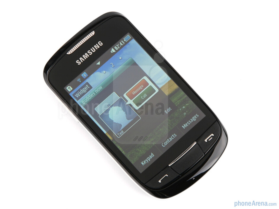 The Samsung Corby II has a 3.14-inch capacitive LCD screen - Samsung Corby II Review