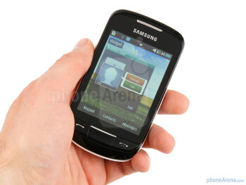 The Samsung Corby II is more conservative than the first-gen Corby - Samsung Corby II Review