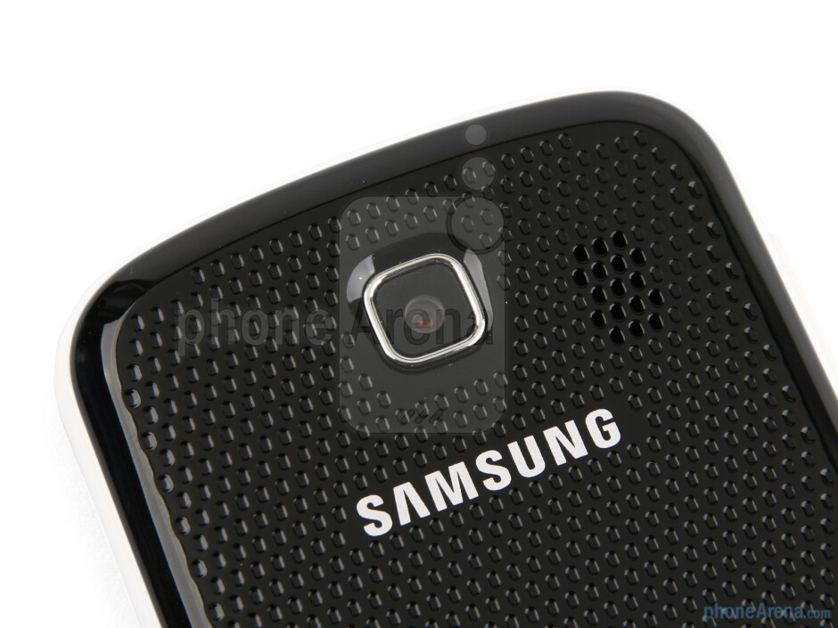 Back - Samsung Corby II Review