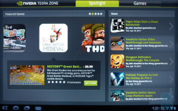 Tegra zone - Acer ICONIA TAB A500 Review