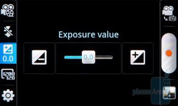 Camera menu - Samsung Infuse 4G Review