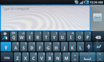 Swype - On-screen keyboards on  the Samsung Infuse 4G - Samsung Infuse 4G Review