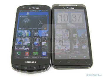 Samsung Droid Charge vs HTC ThunderBolt