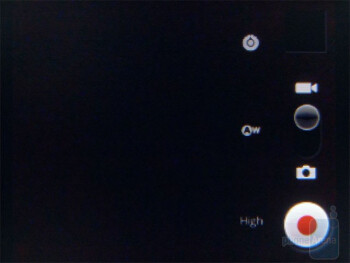 The video camera interface - Samsung Replenish Review