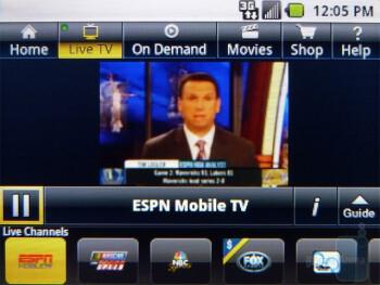 Sprint TV & Movies - Samsung Replenish Review