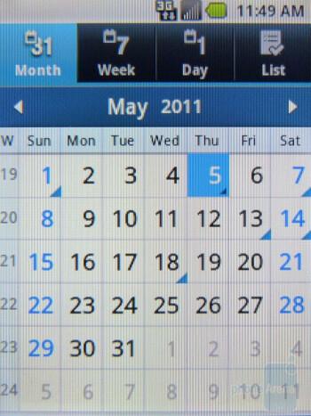 Calendar - Samsung Replenish Review